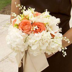 We love this elegant, hand-tied bouquet. More wedding bouquets: http://www.bhg.com/wedding/flowers/pastel-wedding-bouquets/?socsrc=bhgpin073112handtiedbouquet