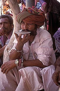 Tea drinking in the saucer - Gujarat, India ♥✫✫❤️ *•. ❁.•*❥●♆● ❁ ڿڰۣ❁ La-la-la Bonne vie ♡❃∘✤ ॐ♥⭐▾๑ ♡༺✿ ♡·✳︎·❀‿ ❀♥❃ ~*~ TH May 5th, 2016 ✨ ✤ॐ ✧⚜✧ ❦♥⭐♢∘❃♦♡❊ ~*~ Have a Nice Day ❊ღ༺ ✿♡♥♫~*~ ♪ ♥❁●♆●✫✫ ஜℓvஜ