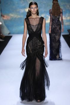 Monique Lhuillier RTW Spring 2013  #Runway #catlwalk #SS13 #spring2013 #fashion #style #trends