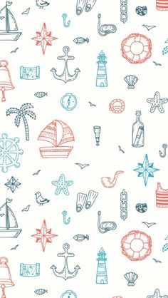 Find Hand Drawn Seamless Nautical Pattern Nautical stock images in HD and millions of other royalty-free stock photos, illustrations and vectors in the Shutterstock collection. Anchor Wallpaper, Nautical Wallpaper, Mobile Wallpaper, Wallpaper Backgrounds, Nautical Background, Anchor Background, Deco Marine, Iphone Background Images, Nautical Pattern