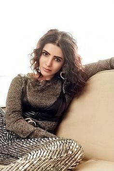 Actors Gossips: What Is Samantha Trying To Prove? Indian Actress Photos, South Indian Actress, Indian Actresses, Samantha Photos, Samantha Ruth, Independent Women, Brunette Hair, Gold Dress, Celebrity Gossip