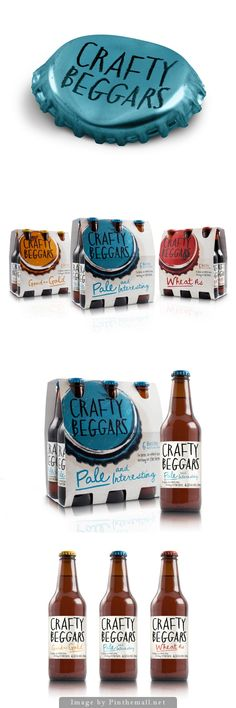 Crafty Beggars Beer by Curious Design