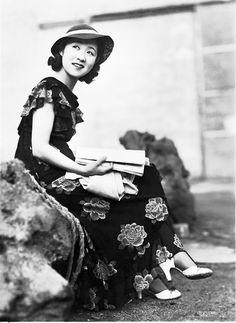 Kinuyo Tanaka, actress and director.