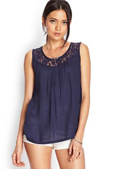 Crochet Lace Top | FOREVER21 #SummerForever