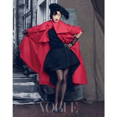 Korean Magazine Lovers (Jeon Ji Hyun - Vogue Magazine September Issue '13) found on Polyvore