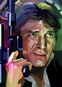 Han Solo, an art print by Liam Brazier - INPRNT