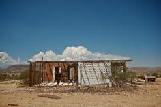 Abandoned house in the Mojave Desert.