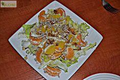 Koperek w kuchni ;): Sałatka cytrusowa z orzechami
