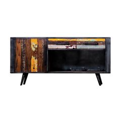 Homestead Living Recycled Boat TV Stand