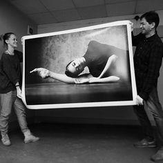 Big And heavy print size 100x150cm Special for Tiffany's Dance Academy (USA) Вот уж не думала, что ты будешь такой тяжеленькой @ruby.tear  #fujifilmru #xt1 #xf35