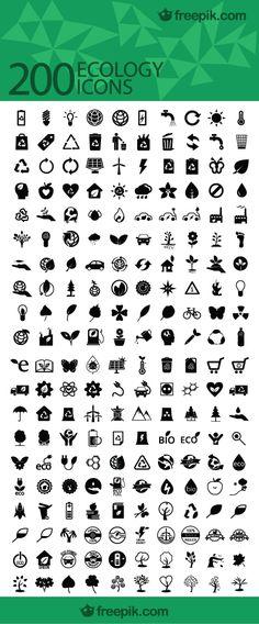 200 Ecology icons on Freepik http://fr.freepik.com/vecteurs-libre/icones-pack-ecologie---200-icones_702328.htm