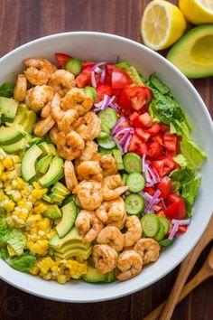 Avocado Shrimp Salad RecipeFollow for recipesGet your FoodFfs  Mein Blog: Alles rund um Genuss & Geschmack  Kochen Backen Braten Vorspeisen Mains & Desserts!