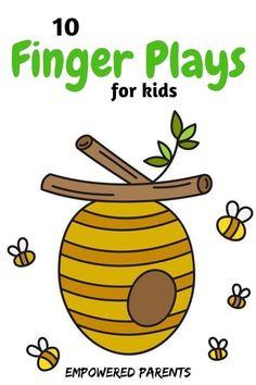 10 Finger Plays for Preschool Kids - Empowered Parents