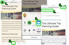 Auch unter iOS Artikel ohne störende Elemente an Evernote senden Evernote, Trip Planning, Ios, Challenges, Canning, How To Plan, Social Media, Home Canning, Conservation
