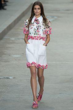 Chanel - Pasarela Primavera Verano 2015 (Paris Fashion Week)