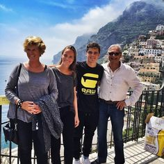 MARTIN GARRIX with his mom, dad and sister Laura