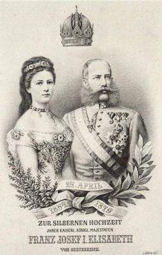 25 Jarig huwelijk van Frans Jozef en Elisabeth