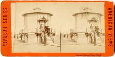Images of Lost US Beach Camera Obscuras in the Wilgus Collection