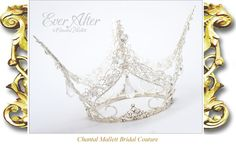 Chantal Mallett Wedding Accessories | Crowns, Coronets, Tiaras and Head-dresses.