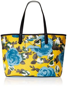 83bedc110747 Marc by Marc Jacobs Metropolitote Jerrie Rose 48 Tote Yellow Jacket Multi  One Size