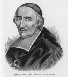 François de Laval (1623-1708) was the first Catholic bishop of Québec.