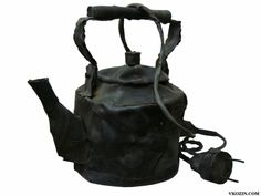 Teaport made from old car tires.