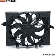 EPMAN - Sport Radiator Cooling Fan Brushless Motor 17427543282 For BMW 5 Series 528i 528 645 525 530 Sedan E60 EP-RCFSE60 #Affiliate
