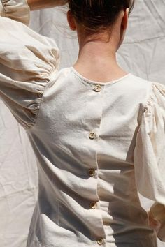 ANAISE TOP | IVORY JAPANESE OXFORD