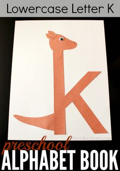 Make teaching the lowercase letter K easy and fun with this adorable alphabet craft!