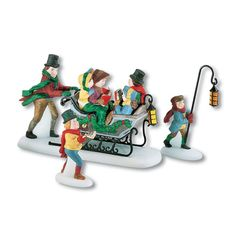 Department 56 Dickens' A Christmas Carol Caroling With The Cratchit Family (Revisited) ** See this great image  : Christmas Decorations