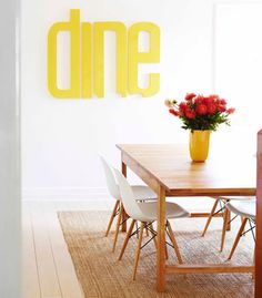 Ipswich House for Real Living Magazine Australia: Design Gina Horner - Photography Toby Scott Real Living Magazine, Interior Styling, Interior Design, Eames Chairs, Inspired Homes, Cool Apartments, Table And Chairs, The Fresh, Interior Inspiration