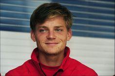 David Goffin (7/12/1990) Belgian pro tennis player