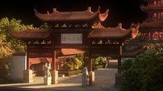 ArtStation - Yellowcrane Temple, Andre Cantarel
