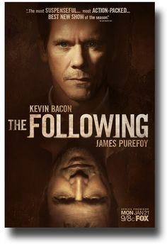 the following tv show | Buy The Following Posters Collection Kevin Bacon TV Series For Sale ...
