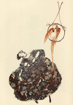 Pierre Choderlos de Laclose. LES LIAISONS DANGEREUSES. The Insulting Bird. Black Sun Press, Paris, 1929 by Alastair