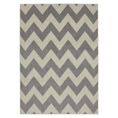I do want this Industrial chic rug from Target. I'm on a gray kick and a chevron kick and this rug is just screaming 'Take Me Home' in gray chevron!