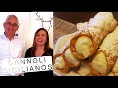 Cannoli Sicilianos do Poderoso Chefão - Confissões de uma Doceira Amadora - YouTube
