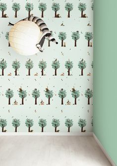 1000 images about kinderkamer on pinterest wallpapers amsterdam and retro - Stickers voor behang ...