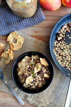 Warm Applesauce Breakfast Bowl Recipe