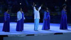Festa de encerramento Olimpíada Rio de Janeiro Maracanã (Foto: David Ramos…