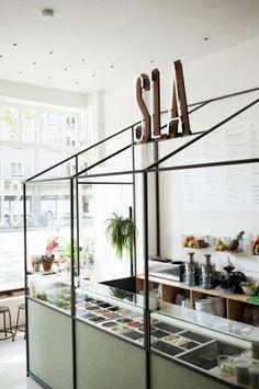 Amsterdam : Sla, bar à salades | ATELIER RUE VERTE le blog
