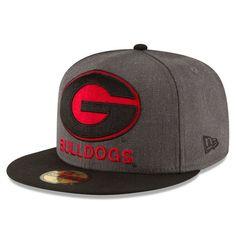Georgia Bulldogs New Era Heather Grand 59FIFTY Fitted Hat, $34.99