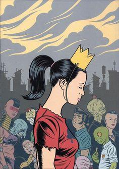 Marvellous artist Charles Burns album The Hive (back cover) Lynda Barry, Street Art, Comic Poster, Ligne Claire, Bd Comics, Comic Panels, Retro Pop, Design Graphique, Animation