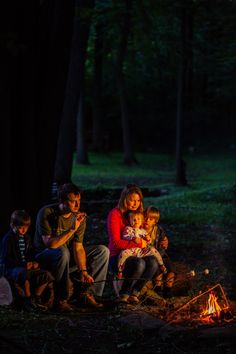 Simple Bites family campfire