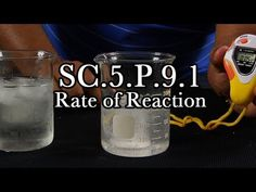SC.5.P.9.1 Rate of Reaction