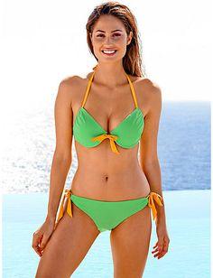 Heine - Softcup-Bikini gelb/kiwi im Heine Online-Shop kaufen