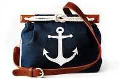 Nautical Anchor Purse