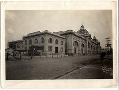 AHSP - Acervo fotográfico do Arquivo Histórico de São Paulo, Mercado Municipal 1930