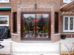 Custom Wood Doors made in Canada by Amberwood Doors. Our expert craftsman can help you find the right door for your home renovation project Custom Wood Doors, Folding Doors, Summer Sale, Home Renovation, Craftsman, Windows, Patio, Accordion Doors, Artisan