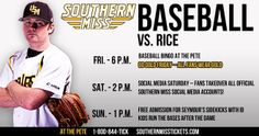 Come out to The Pete this weekend as the Golden Eagles take on C-USA leader the Rice Owls.